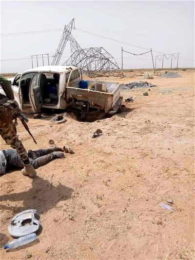IED planted by Boko Haram