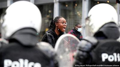 Nine cops hospitalized in Belgium riots after black woman's arrest