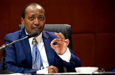 Motsepe to become CAF president , as CAS upholds Ahmad's ban