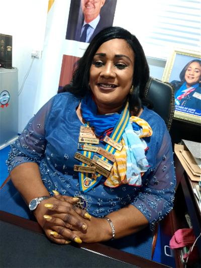 Some people thought Rotary wanted to reduce Nigeria's population— Jumoke Bamigboye