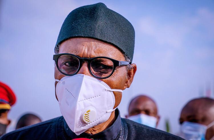 Buhari arrives Apapa