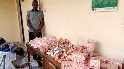 NDLEA nabs alleged Chadian supplier of drugs to Boko Haram