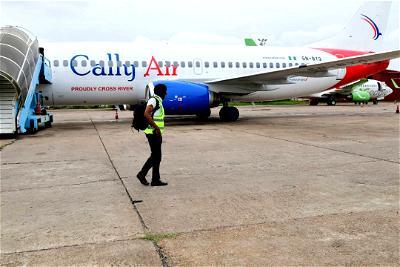 Cally Air: Ayade takes delivery of 2nd Boeing 737 aircraft for Cross River Airline