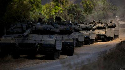 Israel intensifies attacks on Gaza, army says troops on the ground