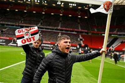 Manchester United fans storm Old Trafford amid protests ahead of Liverpool game