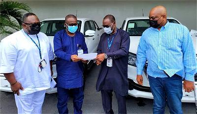 Axxela boosts Ogun security with 2 patrol vehicles