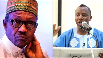 Sowore calls for 'Vote of No Confidence' on Buhari
