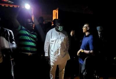 Midnight fire guts Udenu LG INEC office in Enugu