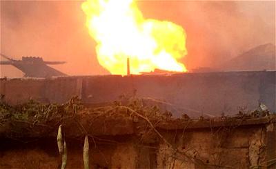 Gas explosion in Ogun kills 3 including an infant