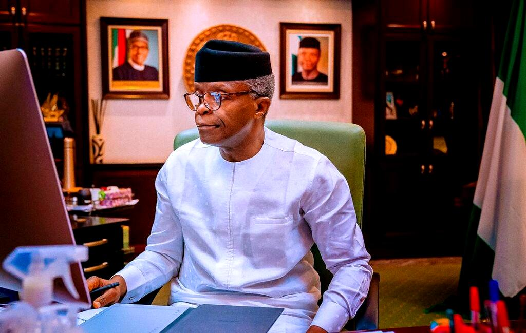 Debate over Nigeria's future can be tense but not polarizing, says Osinbajo