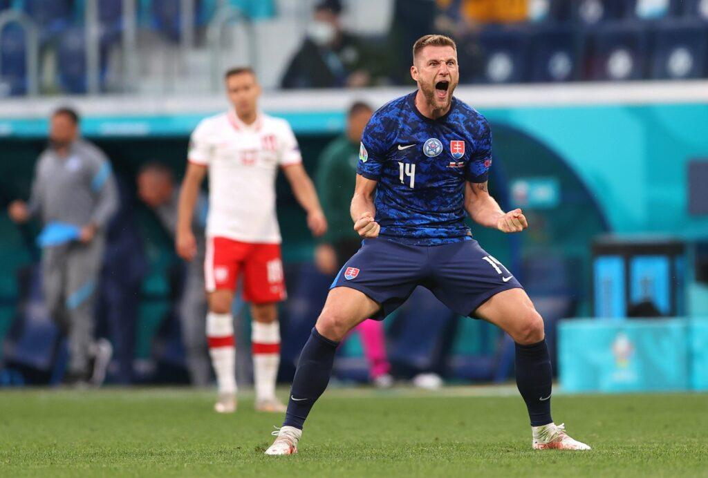 EURO 2020: Skriniar the hero as Slovakia seal 2-1 win over Poland