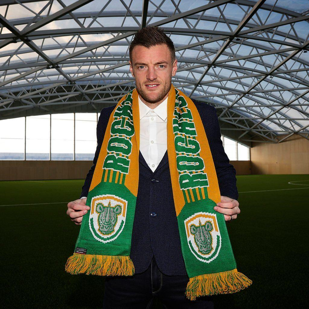 Leicester's Jamie Vardy becomes football club owner