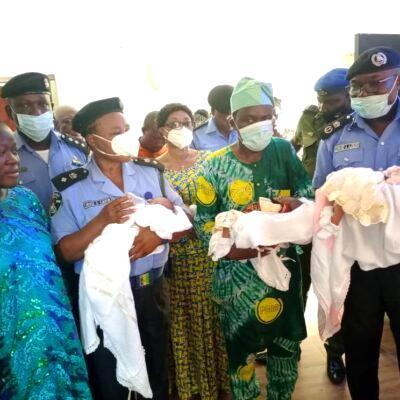 Female police officer delivers triplet in Ogun