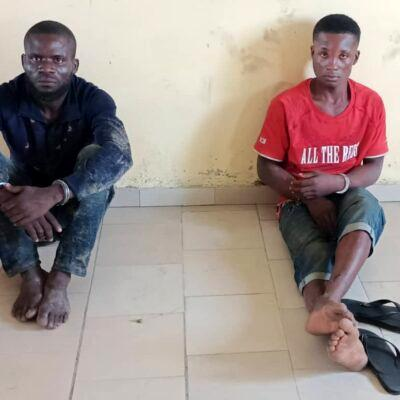 2 suspected vandals nabbed for cable theft in Bayelsa community