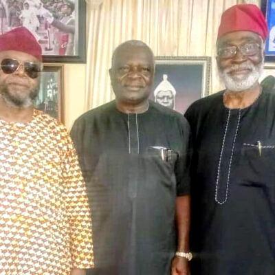 Owokoniran, Oyinlola meet in Osun; visit Oladimeji