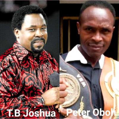 Peter Oboh, TB Joshua