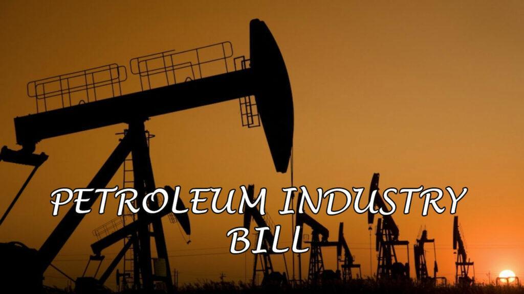 Petroleum Industry Bill HOSCON