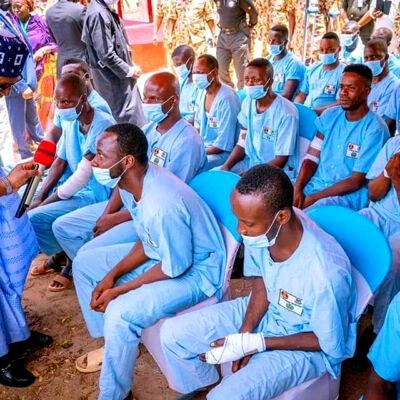 Buhari, Borno visit,