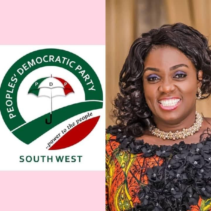 The Peoples Democratic Party, PDP, South-West region, has described the wife of Oyo State governor, Mrs Tamunominini Makinde, as a rare breed with a heart of gold for humanitarian work for the people of the state.