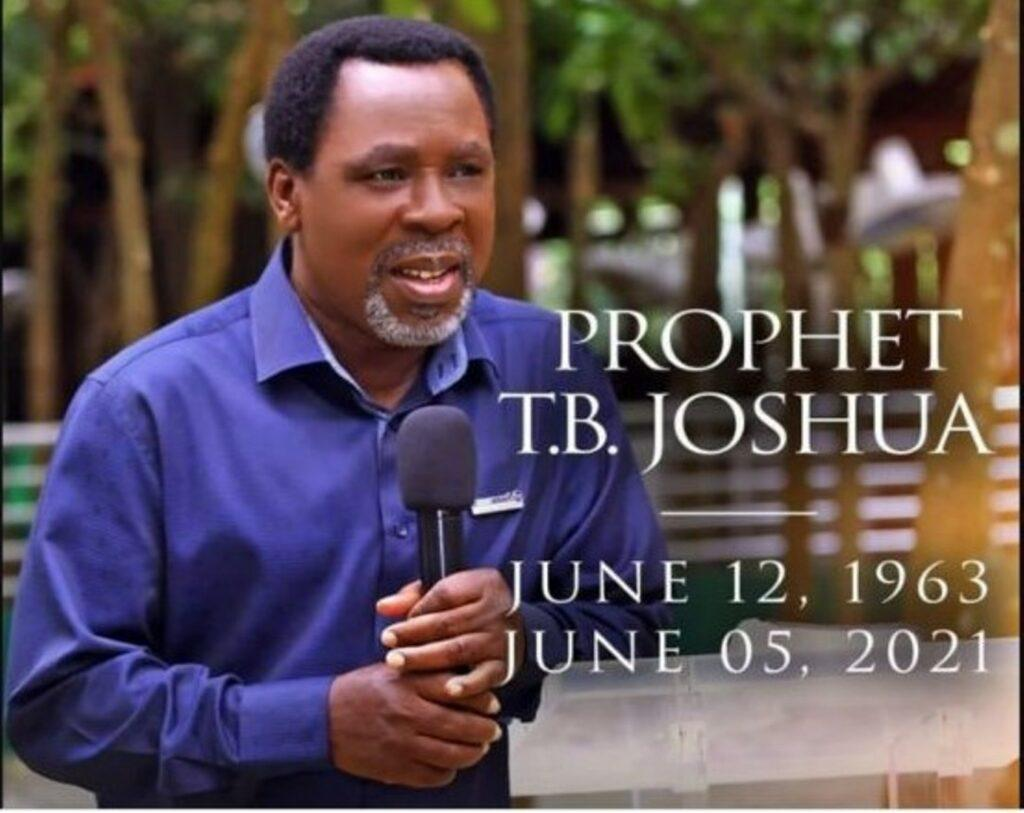 He was passionate about helping the downtrodden, CAN breaks silence on TB Joshua's death