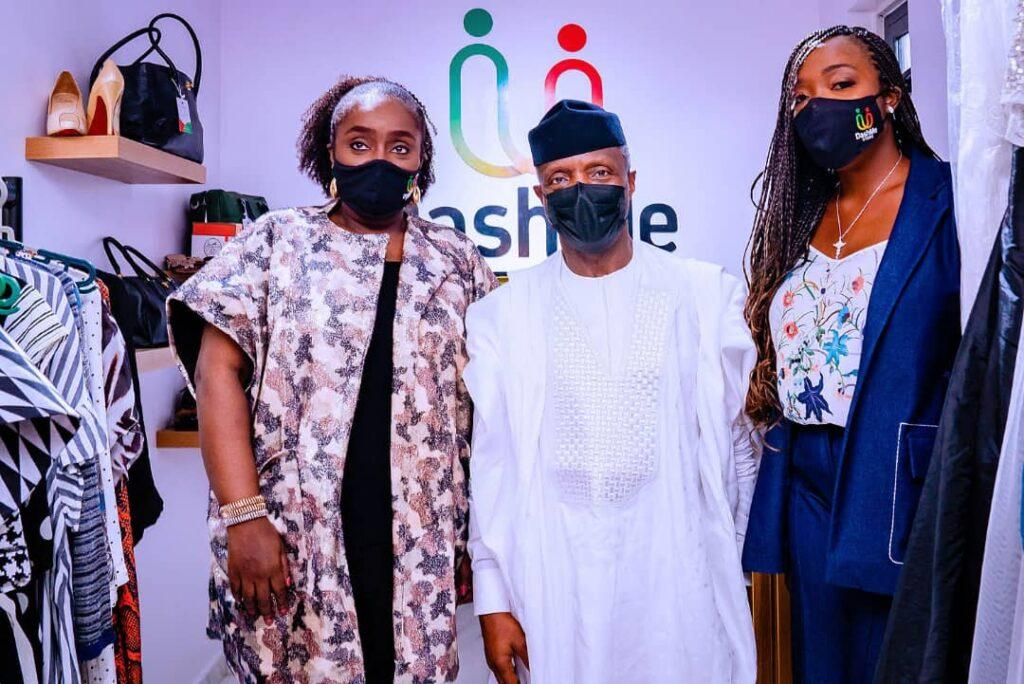 Osinbajo chairs Kemi Adeosun's DashMe Foundation launch