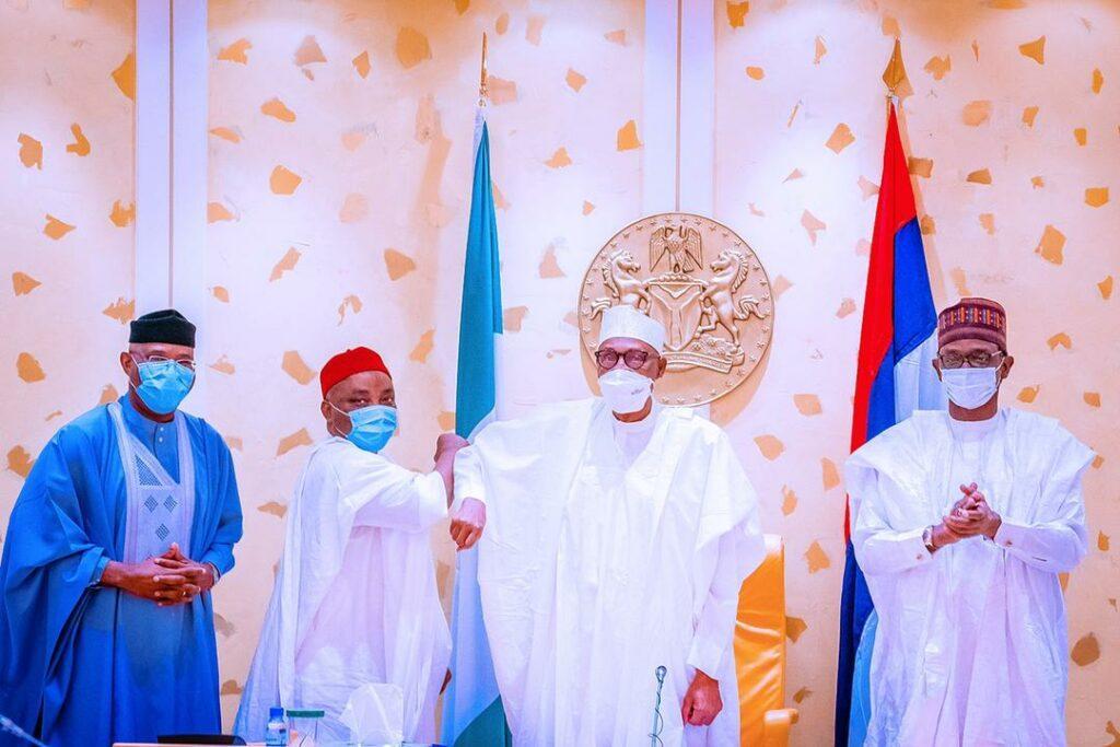 BREAKING: Buhari receives Senator Nwaoboshi as he dumps PDP for APC