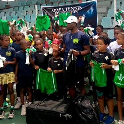 Apapa Tennis Foundation reiterates commitment towards grassroots devt