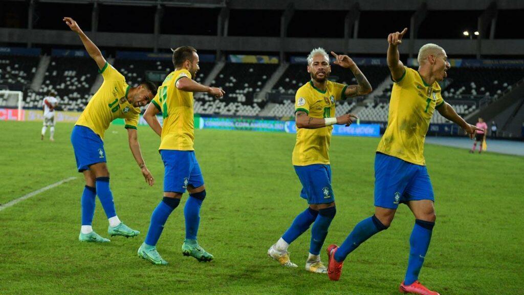 COPA AMERICA: Neymar stars as Brazil rout Peru 4-0