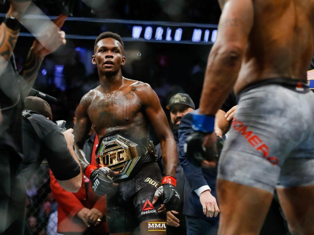 UFC champions Kamaru Usman, Israel Adesanya nominated for World MMA Awards