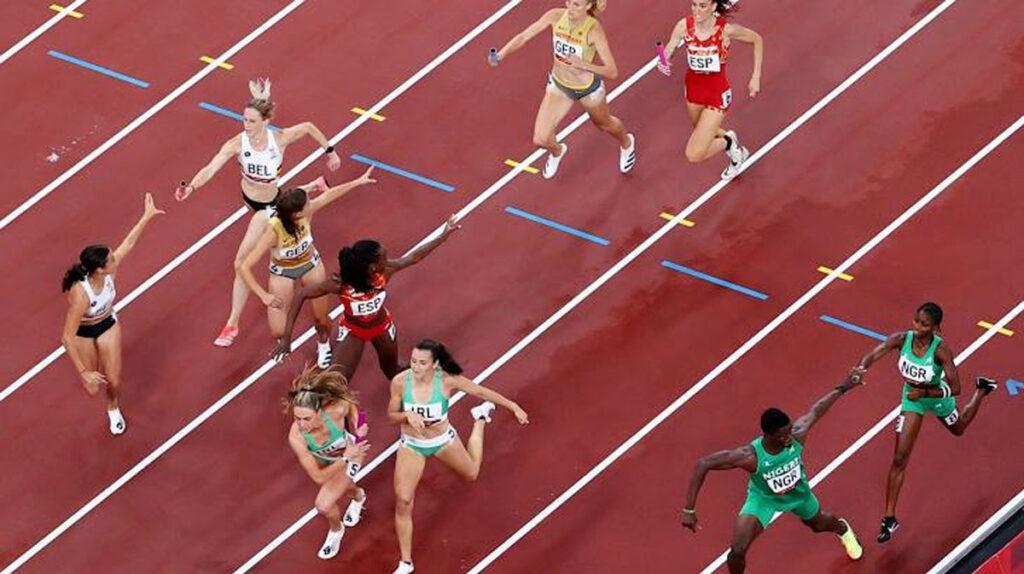 4 x 400 mixed relay Nigeria
