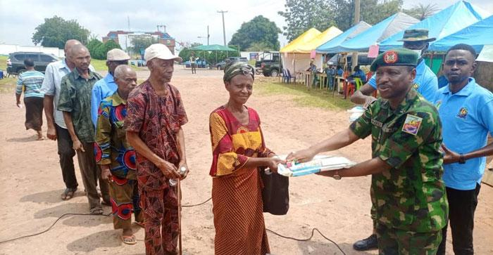 Weeks after siege, Army begins free medical outreach in Ohafia