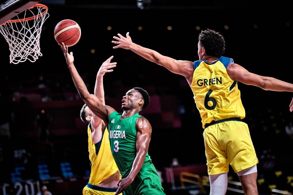 Australia vs Nigeria Olympics basketball