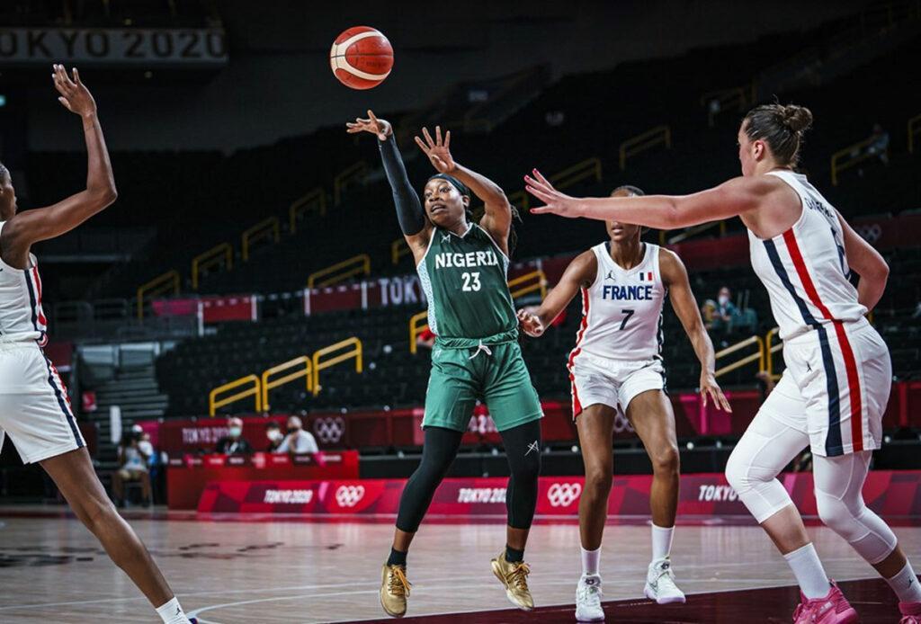 Olympics basketball Nigeria D'Tigress