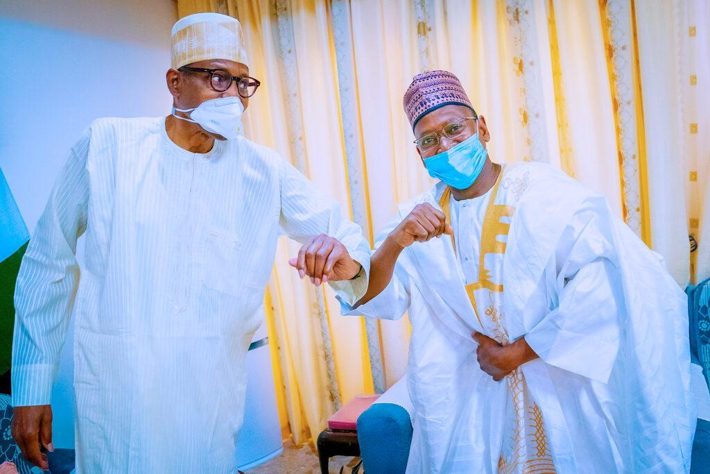 PHOTOS: Buhari receives Sallah homage in Daura hometown