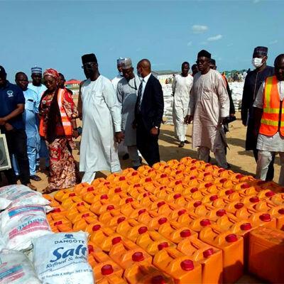 NEMA boss flags off food distribution in Borno IDPs camp