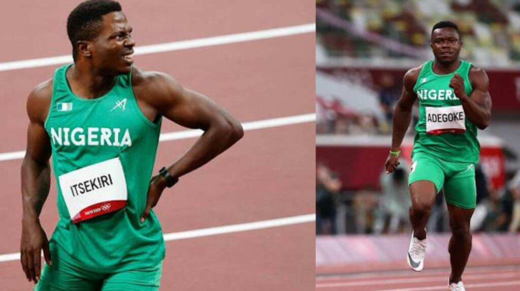 Olympics men 100m Adegoke Itsekiri