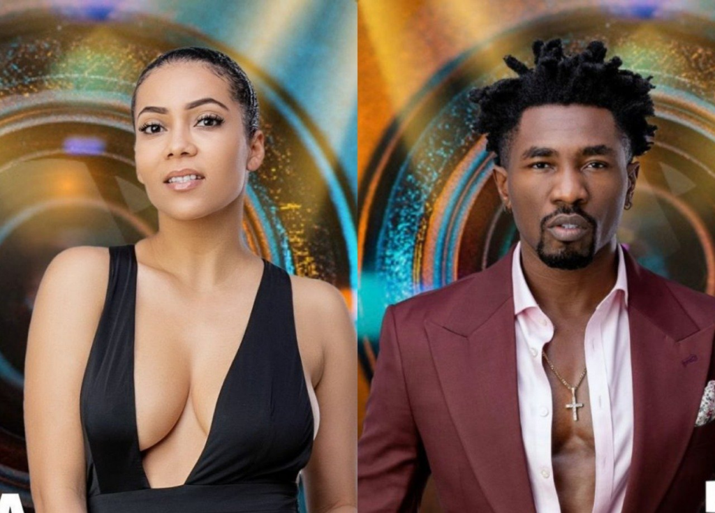 #BBNaija: Maria kisses Boma to see if 'he's truly an actor'