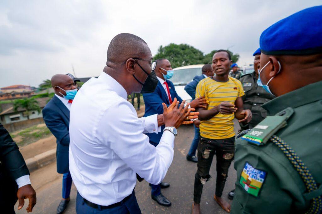 Police arraigns four suspected traffic criminals arrested Sanwo-Olu