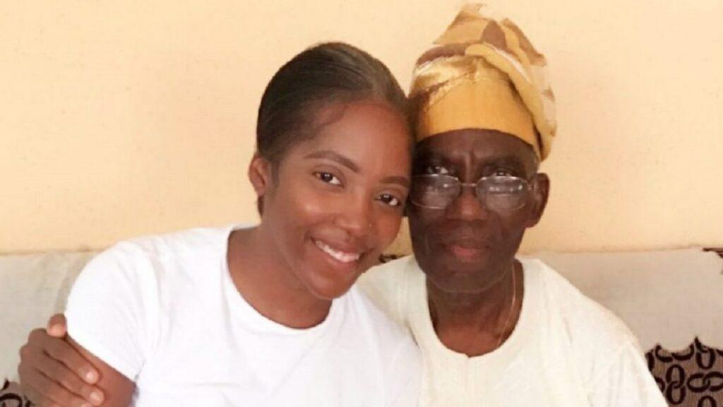 This is tough on me, I'm so numb, so weak': Tiwa Savage mourns dad