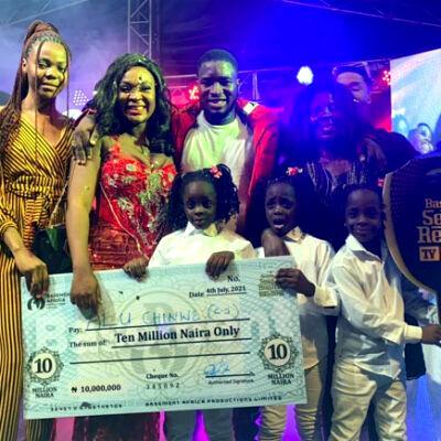 Cynthia wins N25m, car in 'Basement Reality' show