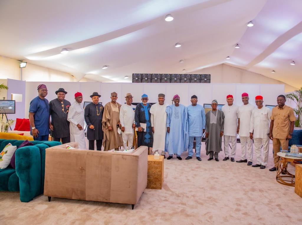 Akeredolu leads Southern govs in crucial Lagos meeting