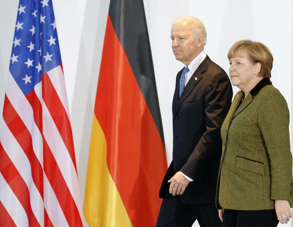 Issues remain as Merkel, Biden seek to rebuild trans-Atlantic ties