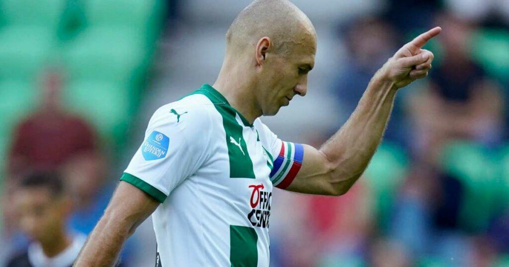 Robben retires again after inury-hit season with Groningen