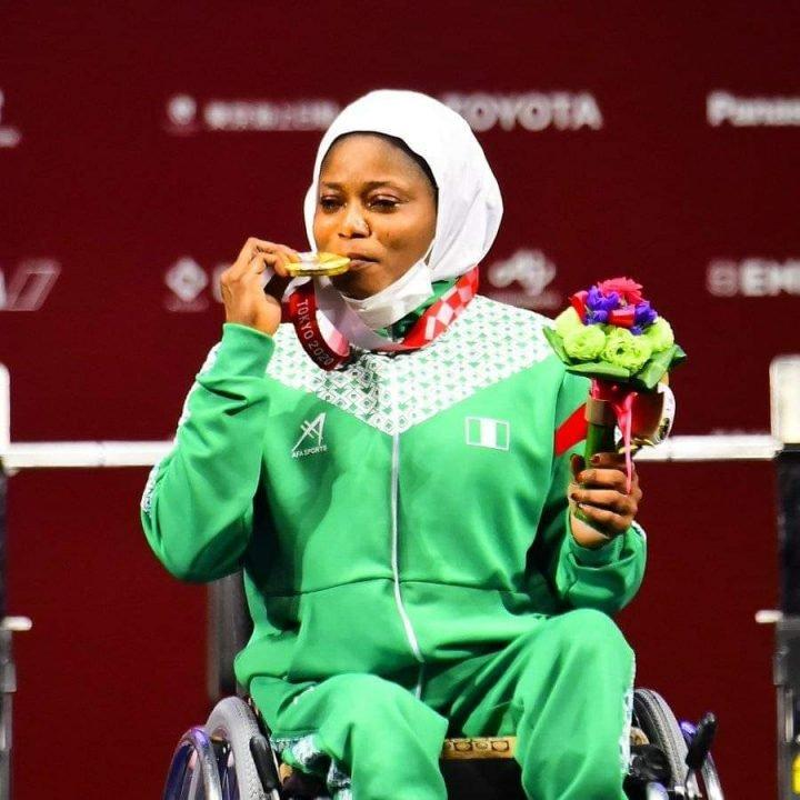 PARALYMPIC GAMES: Latifat picks Nigeria's first gold medal in Tokyo