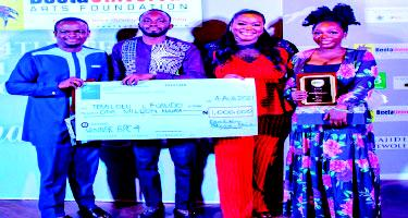 Fosudo emerges winner of 4th Beeta Playwright Competition