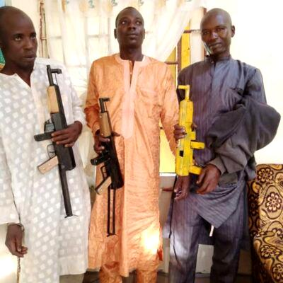 Repentant 'notorious bandits' working with Katsina govt arrested for cattle rustling, robbery Repentant 'notorious bandits' working with Katsina govt arrested for cattle rustling, robbery