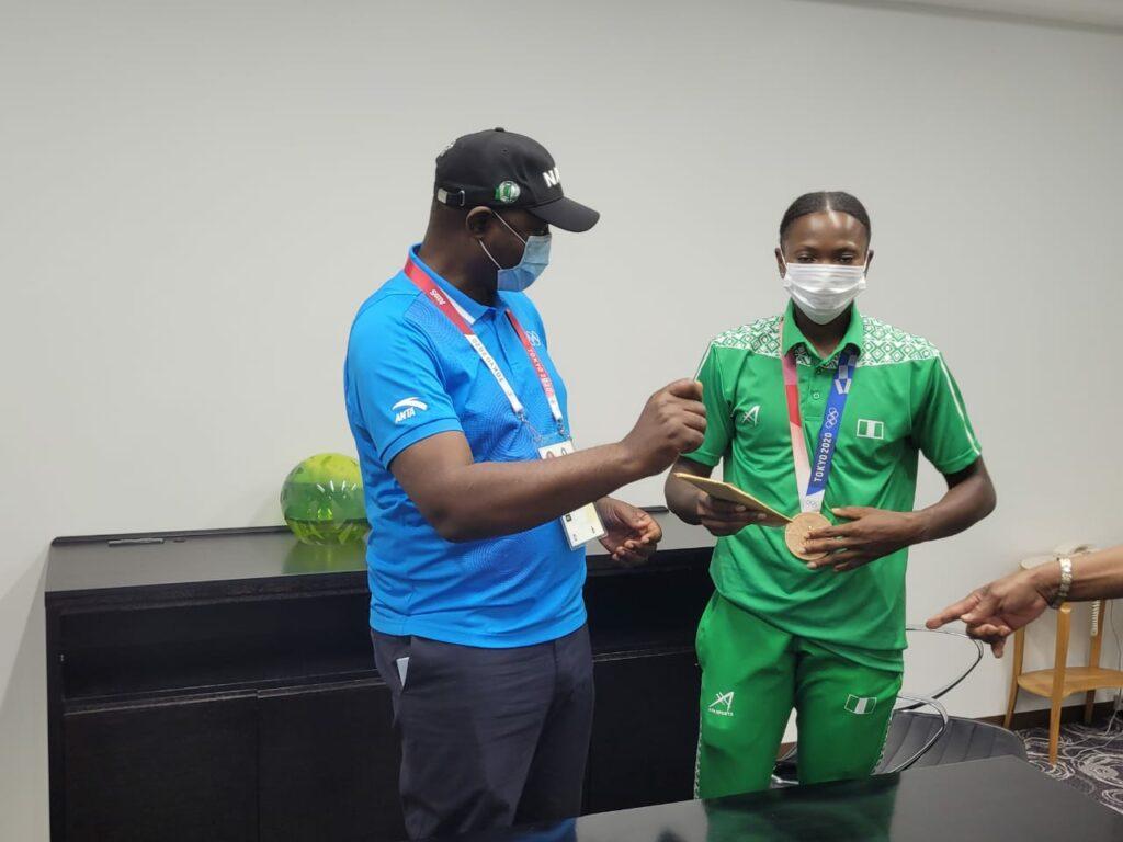 Blessing Oborududu and Ese Brume