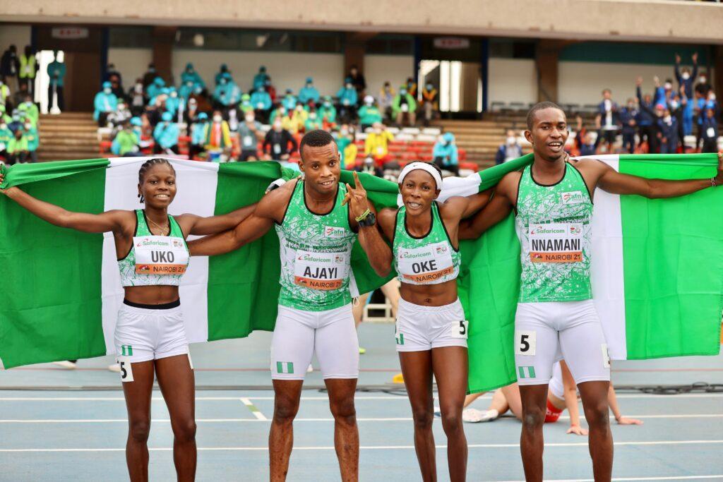 Nigeria Finishes Third Overall In World U20 Athletics Championships