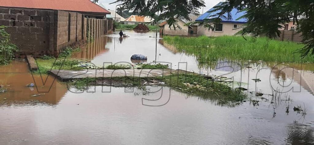downpour in Makurdi town