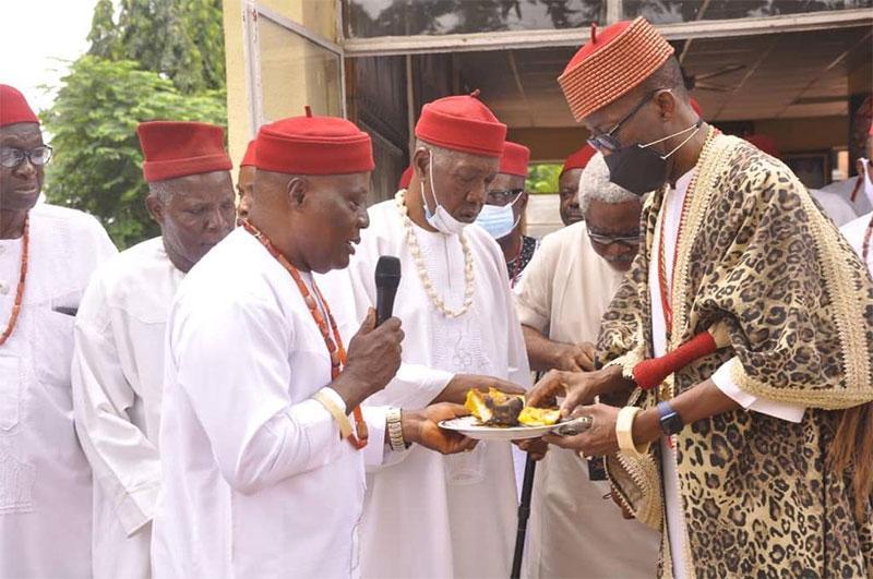 It's New Yam Festival in Oba, Anambra